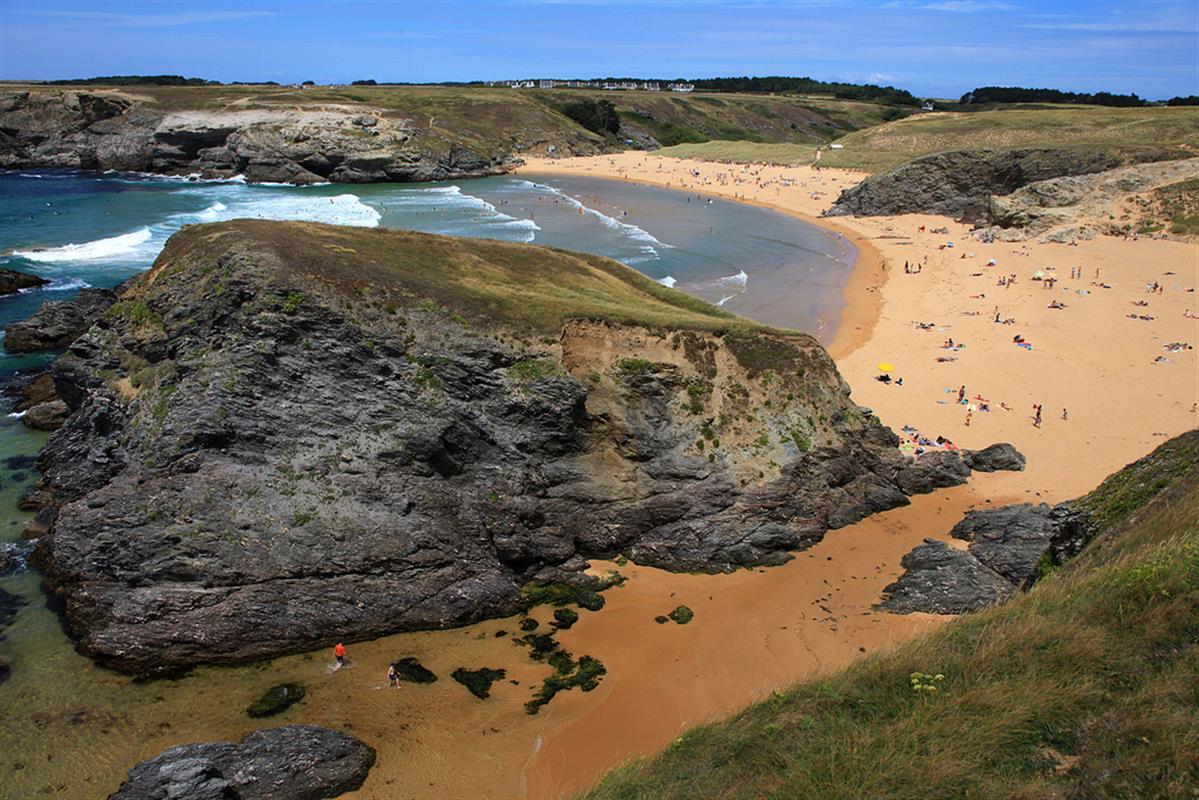 Cap sur les les tourisme bretagne sud vacances for Camping morbihan bord de mer avec piscine